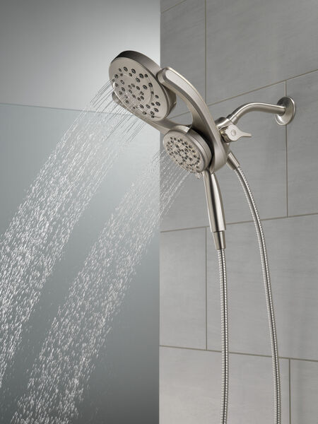 HydroRain® 4-Setting Two-in-One Shower Head, image 22
