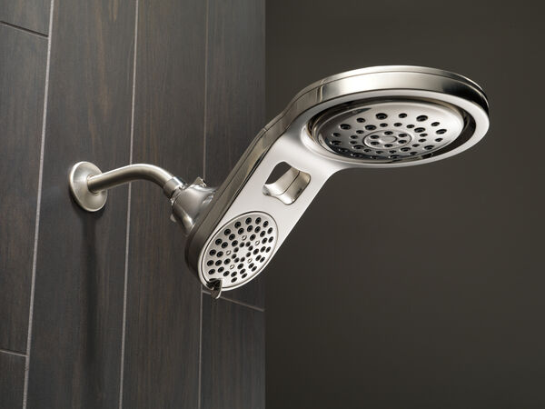 HydroRain® 5-Setting Two-in-One Shower Head, image 2