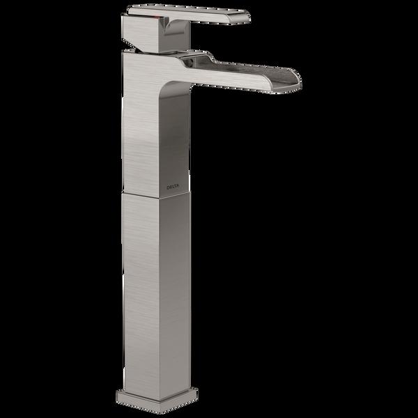 Single Handle Vessel Channel Bathroom Faucet, image 1