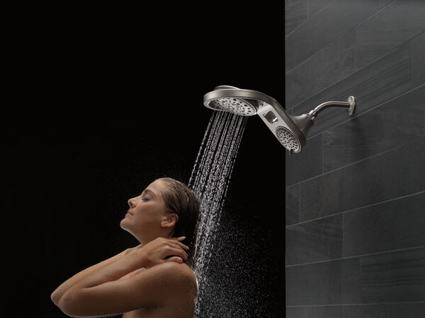 HydroRain® 5-Setting Two-in-One Shower Head, image 7
