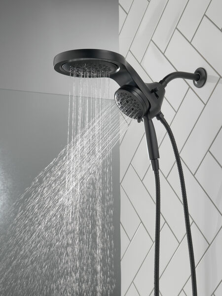 HydroRain® H<sub>2</sub>Okinetic® 5-Setting Two-in-One Shower Head, image 14