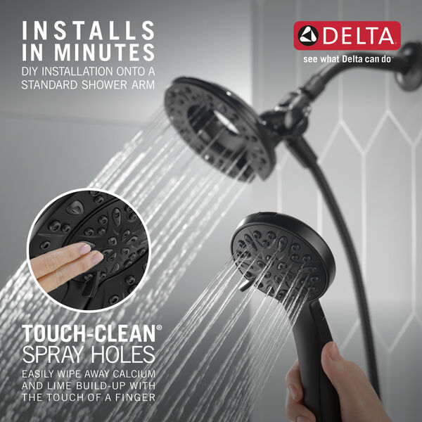 In2ition® 4-Setting Two-in-One Shower, image 2
