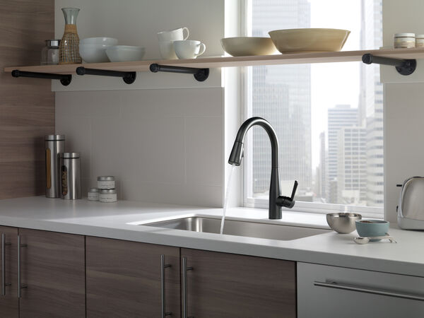 Single Handle Pull-Down Kitchen Faucet, image 25