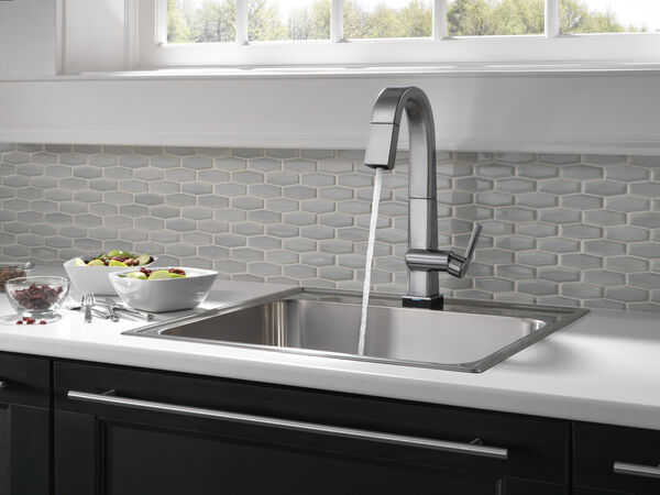 Single Handle Pull Down Bar/Prep Faucet With Touch2O Technology, image 7