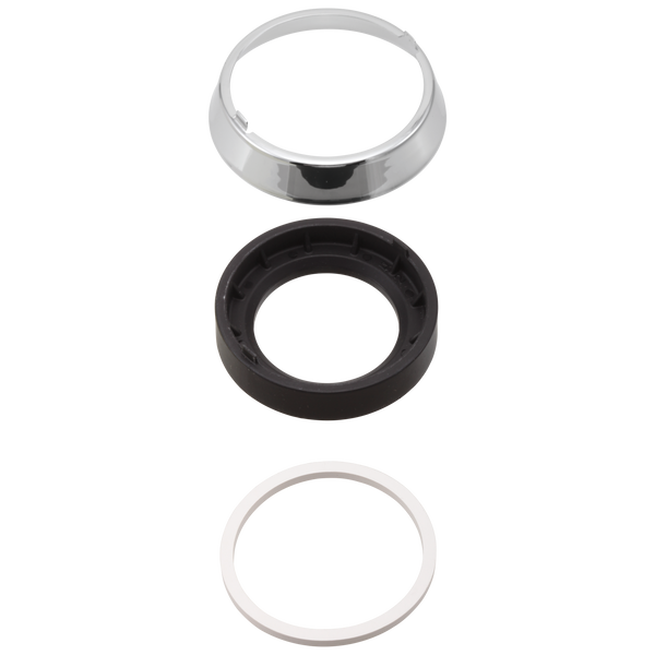 Trim Ring, Base & Gasket, image 1