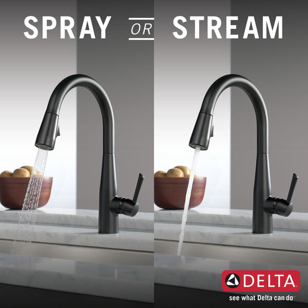 Single Handle Pull-Down Kitchen Faucet, image 10