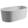 60 in. x 30 in. Freestanding Tub with Center Drain
