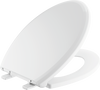 Elongated Slow-Close Toilet Seat