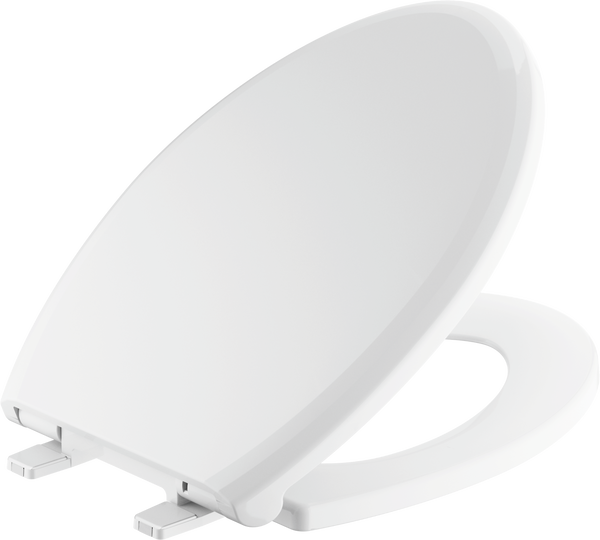 Elongated Slow-Close Toilet Seat, image 2