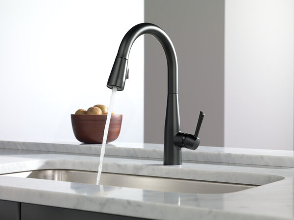 Single Handle Pull-Down Kitchen Faucet, image 24