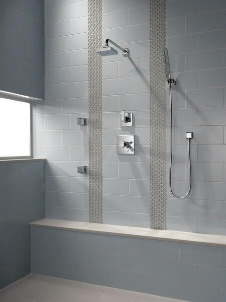 H<sub>2</sub>Okinetic® Single-Setting Raincan Shower Head, image 6