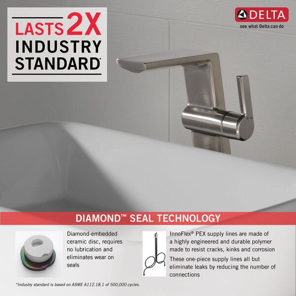 Single Handle Vessel Bathroom Faucet, image 2