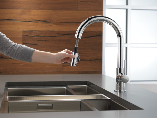 Single Handle Pull-Down Kitchen Limited Swivel, image 2
