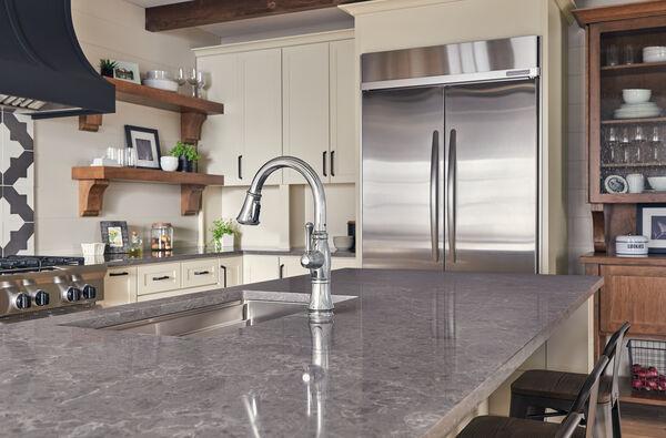 Single Handle Pulldown Kitchen Faucet, image 4