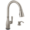 Single Handle Pull-Down Kitchen Faucet with Touch2O® and ShieldSpray® Technologies