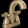 Two Handle Centerset Bathroom Faucet