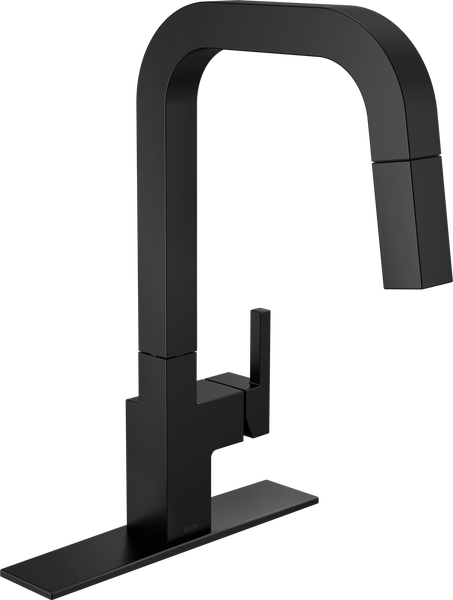 Single-Handle Pull-Down Kitchen Faucet, image 2
