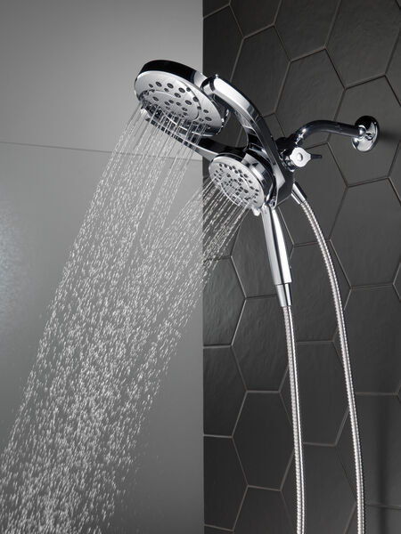 HydroRain® 4-Setting Two-in-One Shower Head, image 20