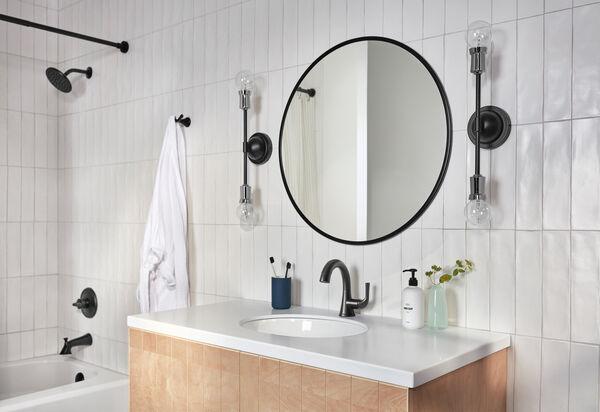 Single Handle Pull-Down Bathroom Faucet, image 10