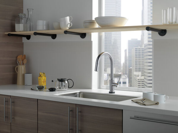VoiceIQ™ Single-Handle Pull-Down Kitchen Faucet with Touch<sub>2</sub>O® Technology, image 15