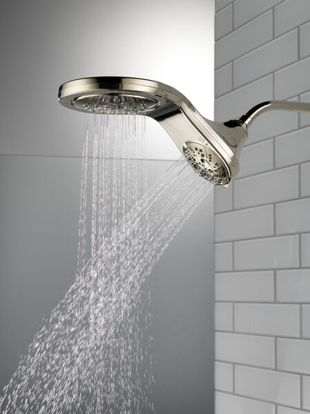 HydroRain® H<sub>2</sub>Okinetic® 5-Setting Two-in-One Shower Head, image 10