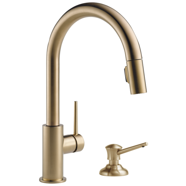 Single Handle Pull-Down Kitchen Faucet (Recertified), image 2
