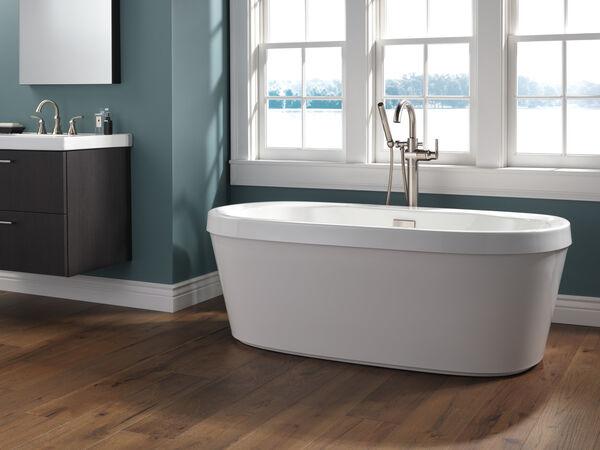 Two Handle Widespread Bathroom Faucet, image 9