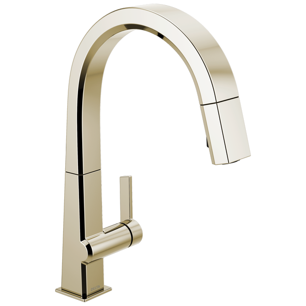Single Handle Pull Down Kitchen Faucet, image 1