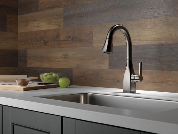 Single Handle Pull-Down Bar/Prep Faucet with Touch, image 9