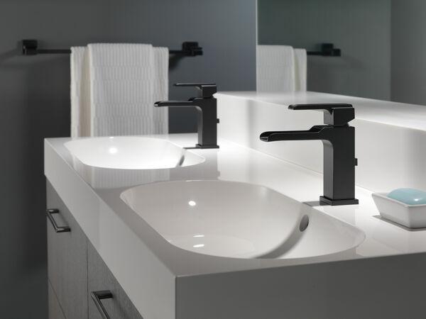 Single Handle Channel Bathroom Faucet, image 5