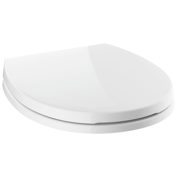 Round Front Slow-Close Toilet Seat, image 1