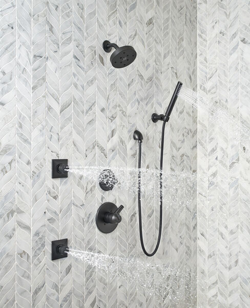 Premium Single-Setting Adjustable Wall Mount Hand Shower, image 7