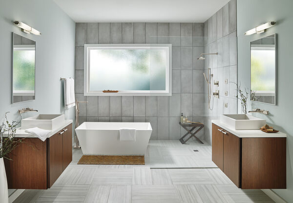 TempAssure® 17T Series H2Okinetic® Shower Trim, image 3