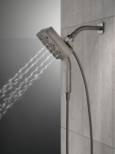 H2Okinetic® In2ition® 4-Setting Two-in-One Shower, image 8