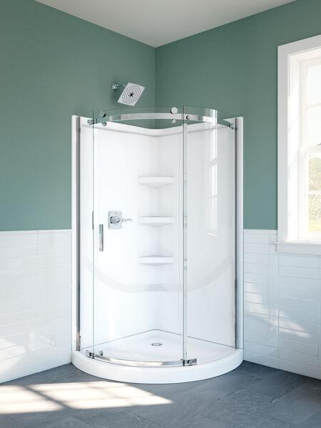 38'' Direct-to-Stud Corner Shower Wall Set, image 9