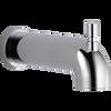 Push-Diverter Tub Spout
