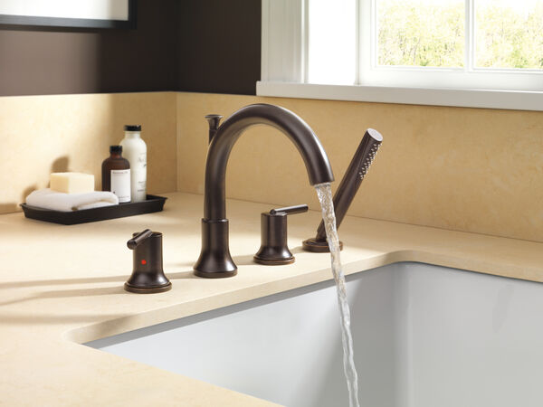 Roman Tub with Hand Shower Trim, image 4