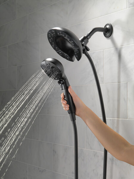 H<sub>2</sub>Okinetic® In2ition® 5-Setting Two-in-One Shower, image 4