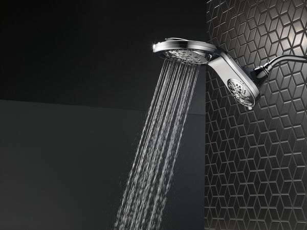 HydroRain® H<sub>2</sub>Okinetic® 5-Setting Two-in-One Shower Head, image 27