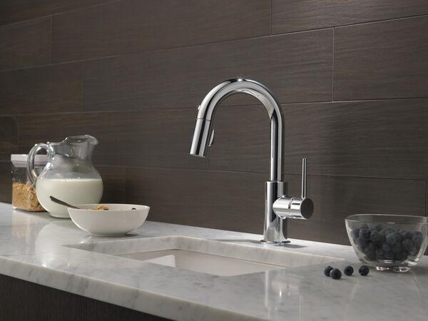 Single Handle Pull-Down Bar / Prep Faucet, image 4