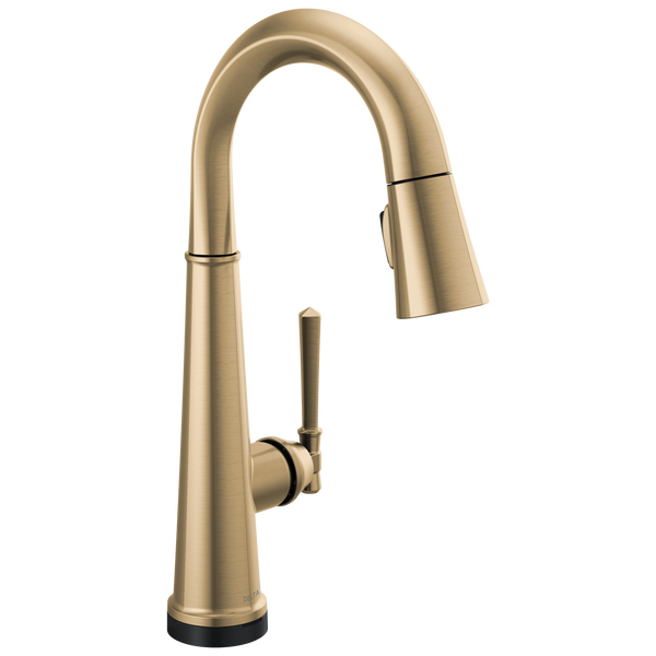 Single Handle Pull Down Bar/Prep Faucet with Touch2O Technology, image 1