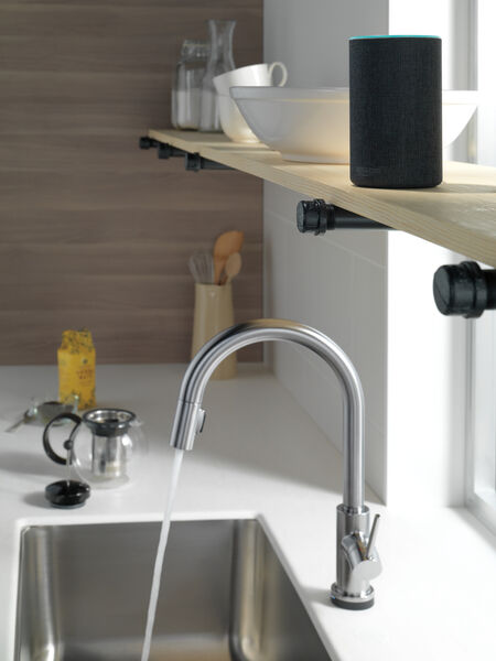 VoiceIQ™ Single-Handle Pull-Down Kitchen Faucet with Touch<sub>2</sub>O® Technology, image 6