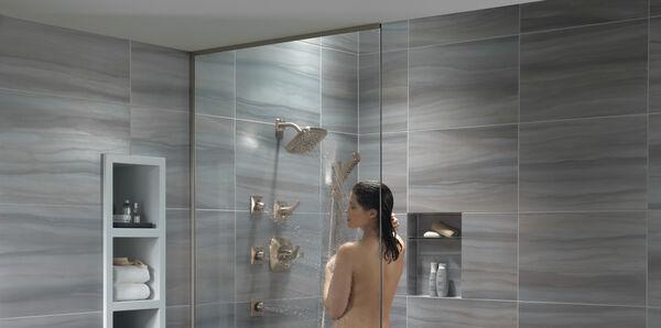 H<sub>2</sub>Okinetic® 4-Setting Slide Bar Hand Shower, image 12