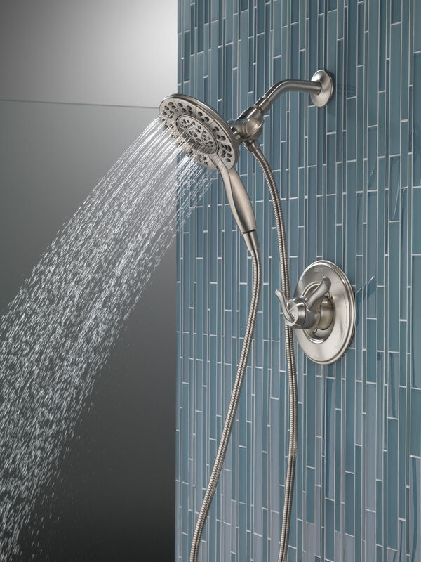 Multi-function Water Purifier Filtration Faucet Shower Head Water Filter for Faucet Shower Outlet Water Heater Mixing Valve Color : Silver