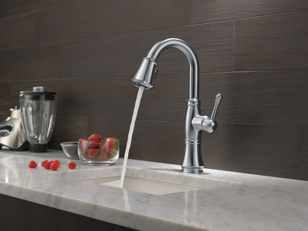 Single Handle Pull-Down Bar / Prep Faucet, image 9