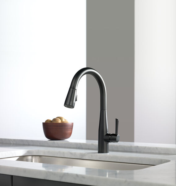 Single Handle Pull-Down Kitchen Faucet, image 26