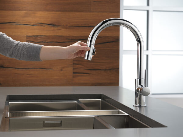 Single Handle Pull-Down Kitchen Limited Swivel, image 4