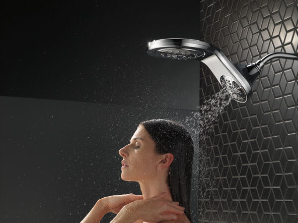 HydroRain® H<sub>2</sub>Okinetic® In2ition® 5-Setting Two-in-One Shower, image 23