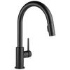 Single Handle Pull-Down Kitchen Faucet  (Recertified)