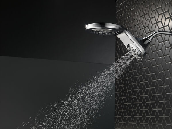 HydroRain® H<sub>2</sub>Okinetic® 5-Setting Two-in-One Shower Head, image 32